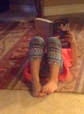 Bailey—my youngest reader!
